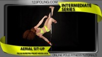 Aerial Sit-Up From Inverted Front hook Lock